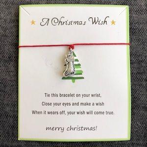 Christmas stocking Wish Bracelet
